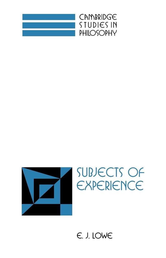 Subjects of Experience als Taschenbuch