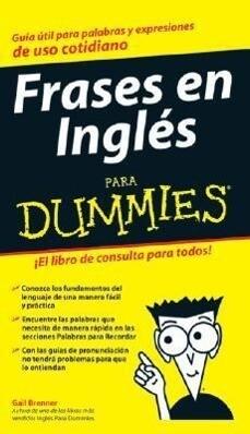 Frases En Ingles Para Dummies als Taschenbuch