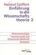 Einführung in die Wissenschaftstheorie. Tl.2