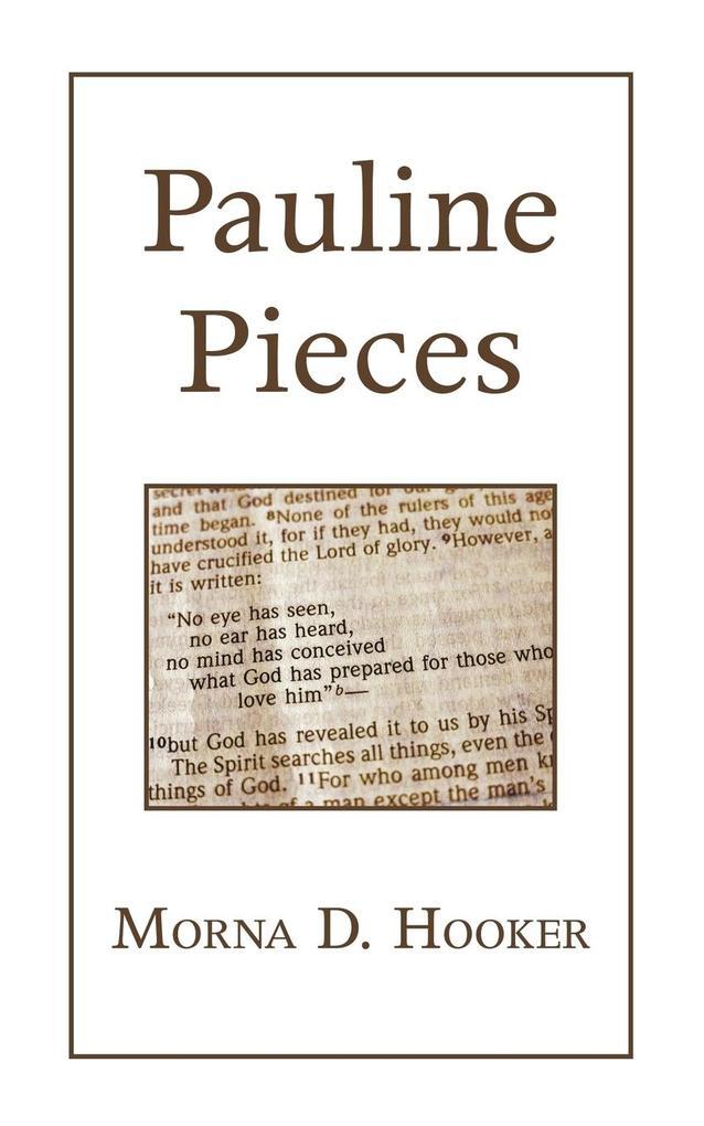 Pauline Pieces als Taschenbuch