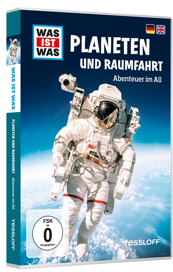 WAS IST WAS DVD Planeten und Raumfahrt. Abenteuer im All als DVD