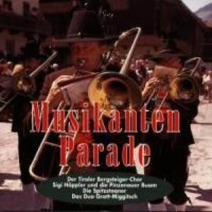 Musikantenparade als CD