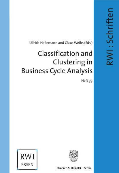 Classification and Clustering in Business Cycle Analysis. als Buch (kartoniert)