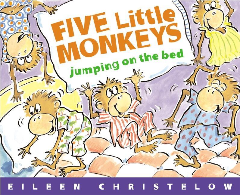 Five Little Monkeys Jumping on the Bed als Taschenbuch