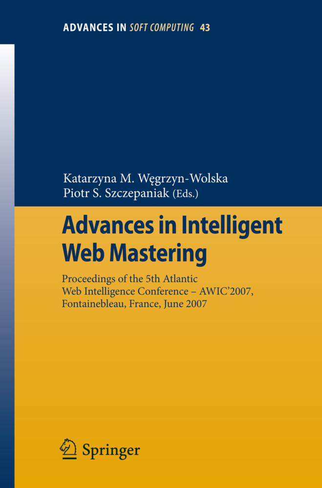 Advances in Intelligent Web Mastering als Buch (kartoniert)