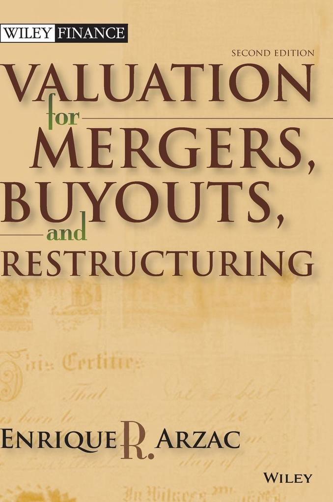 Valuation: Mergers, Buyouts and Restructuring [With CDROM] als Buch (gebunden)