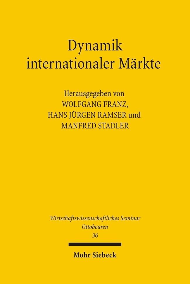 Dynamik internationaler Märkte als Buch (kartoniert)