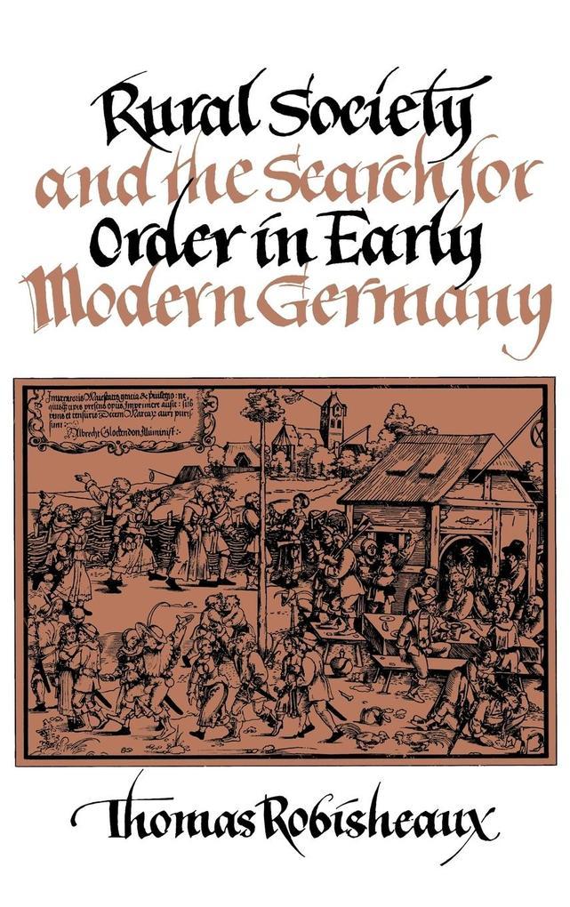 Rural Society Early Modern Ger als Buch (gebunden)