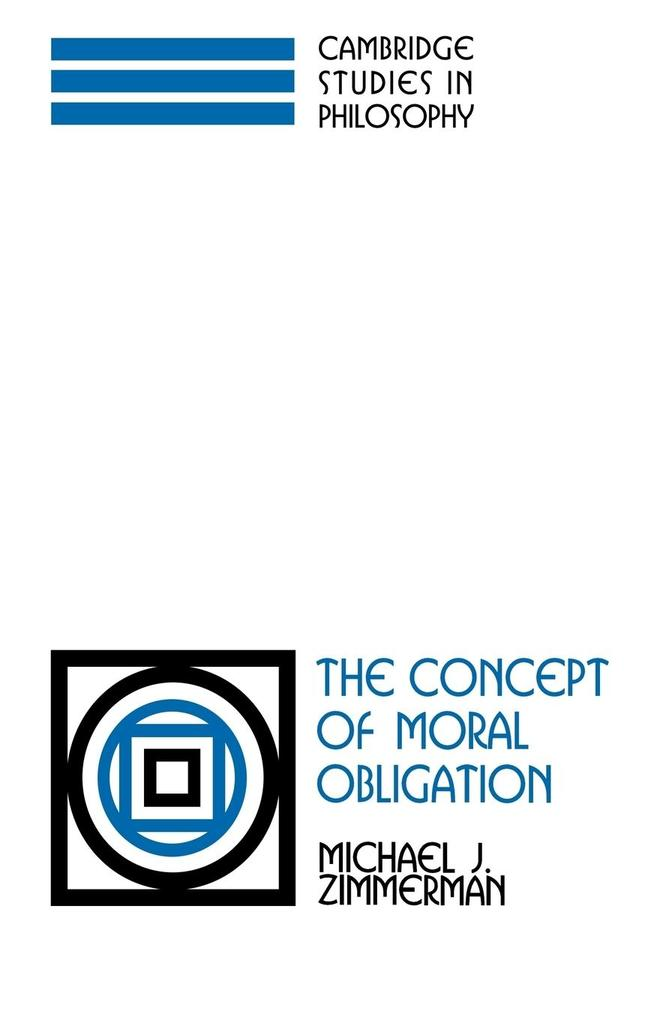 The Concept of Moral Obligation als Taschenbuch
