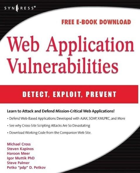 Web Application Vulnerabilities als Buch (kartoniert)