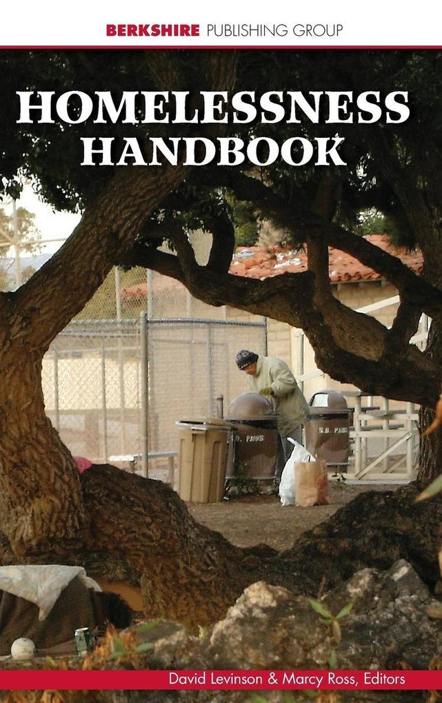 Homelessness Handbook als Buch (gebunden)