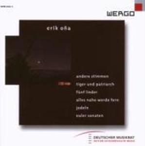 Andere Stimmen/Tiger und Patriarch/Funf Lieder als CD