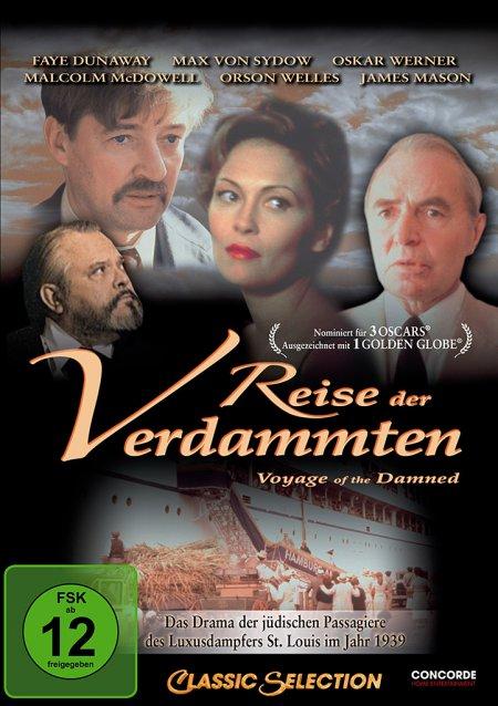 Reise der Verdammten als DVD