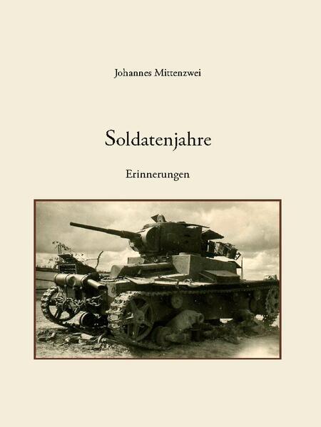 Soldatenjahre als Buch (gebunden)