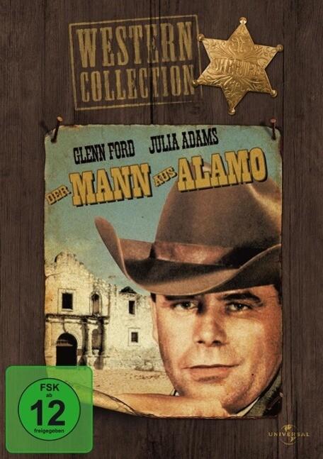 Der Mann aus Alamo als DVD