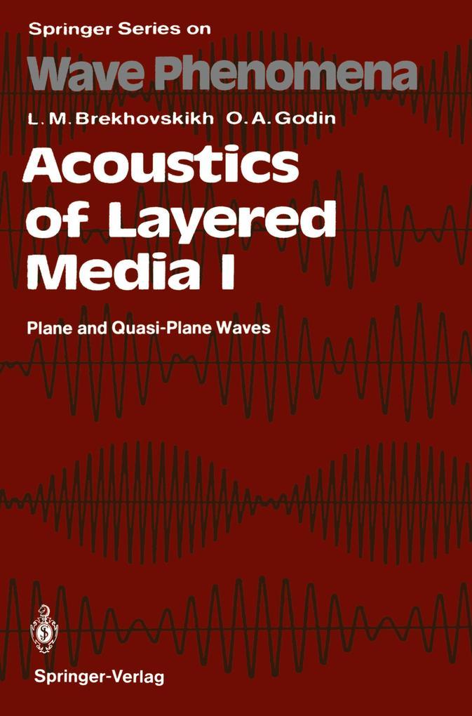 Acoustics of Layered Media I als Buch (kartoniert)