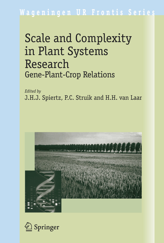 Scale and Complexity in Plant Systems Research als Buch (kartoniert)
