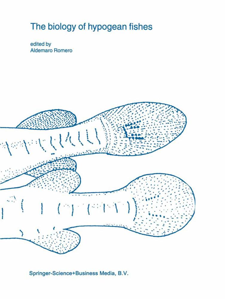 The biology of hypogean fishes als Buch (gebunden)
