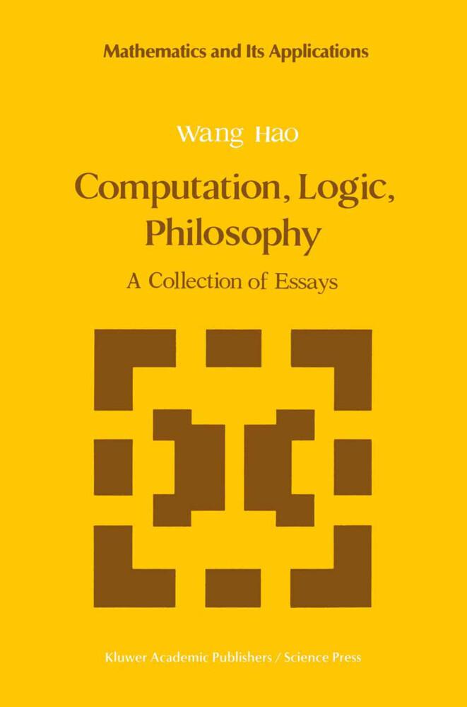 Computation, Logic, Philosophy als Buch (gebunden)