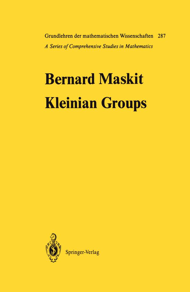 Kleinian Groups als Buch (gebunden)