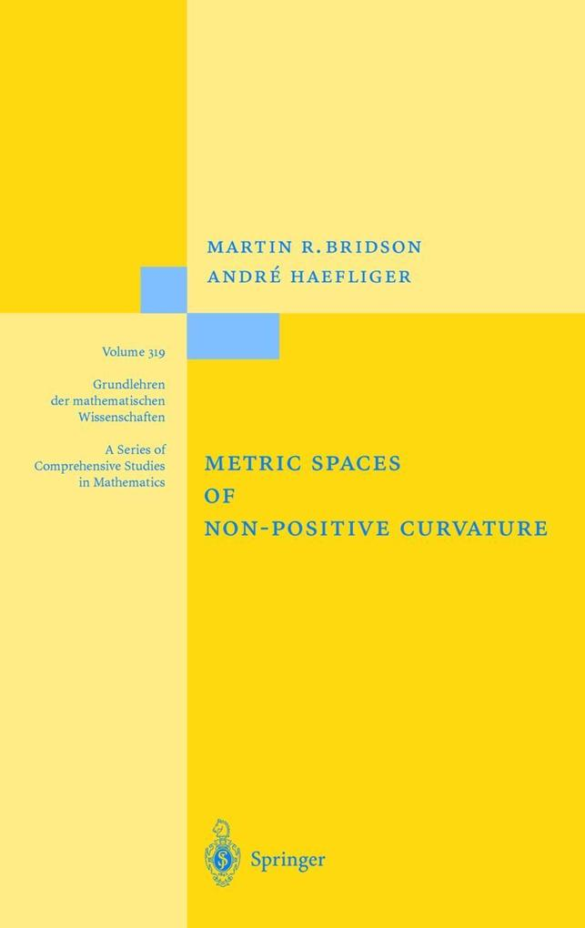 Metric Spaces of Non-Positive Curvature als Buch (gebunden)