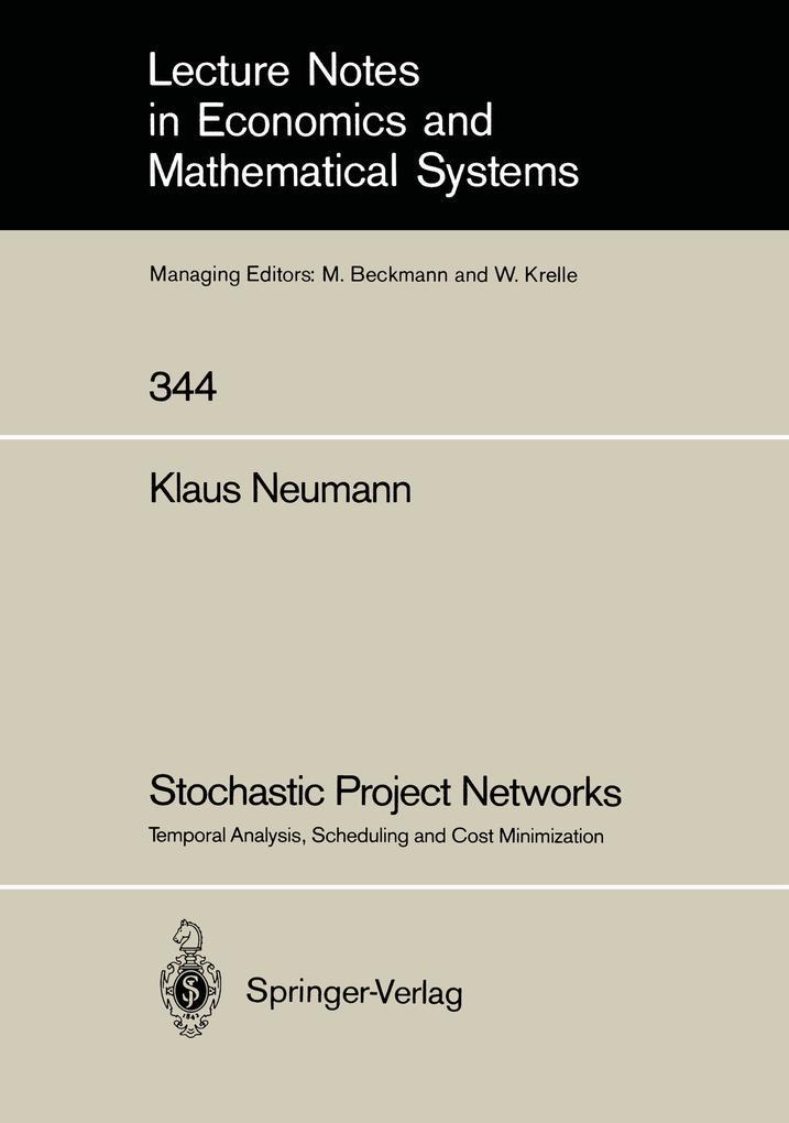 Stochastic Project Networks als Buch (gebunden)