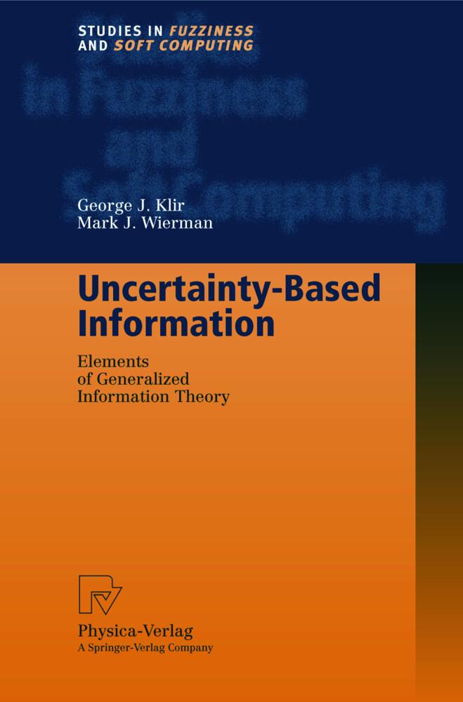 Uncertainty-Based Information als Buch (gebunden)