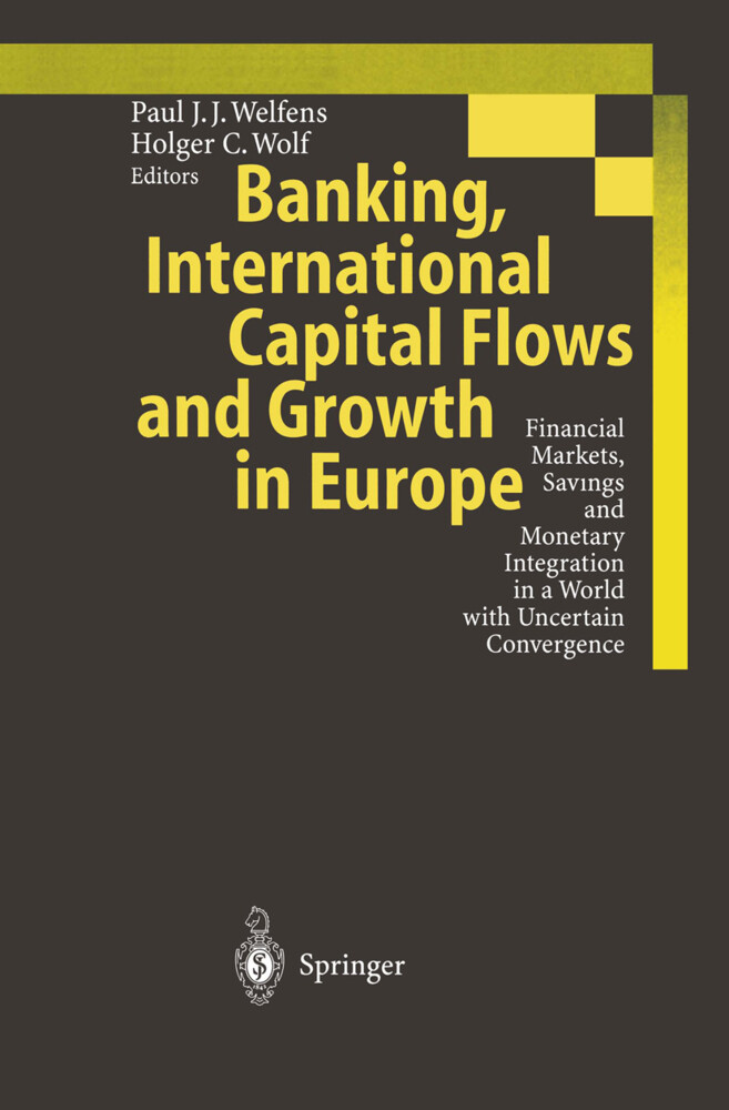 Banking, International Capital Flows and Growth in Europe als Buch (gebunden)