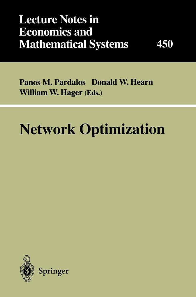 Network Optimization als Buch (kartoniert)