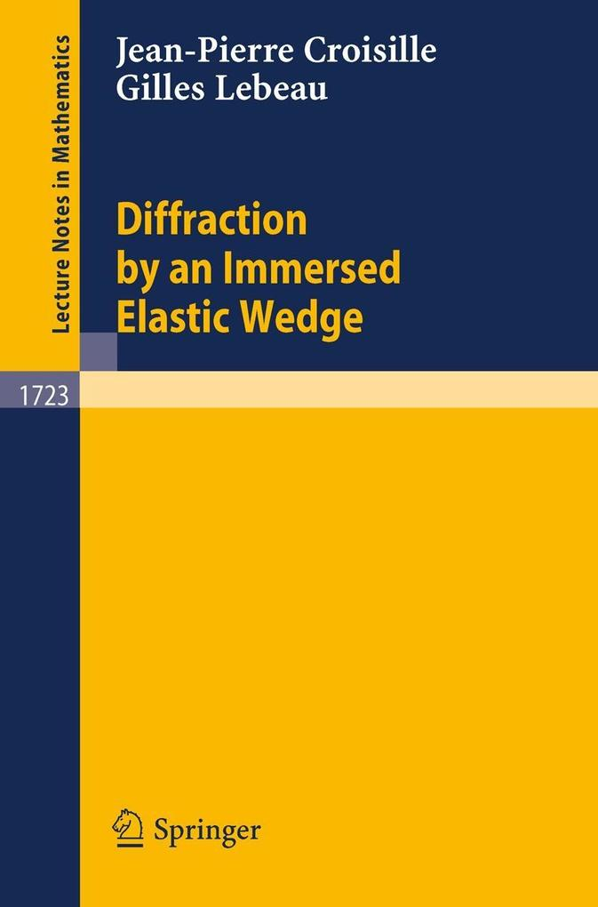 Diffraction by an Immersed Elastic Wedge als Buch (kartoniert)