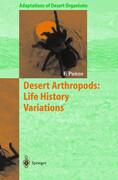 Desert Arthropods: Life History Variations