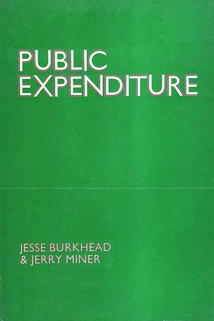 Public Expenditure als Taschenbuch