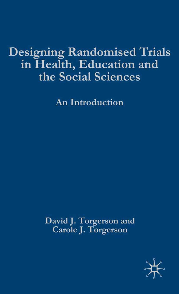 Designing Randomised Trials in Health, Education and the Social Sciences als Buch (kartoniert)
