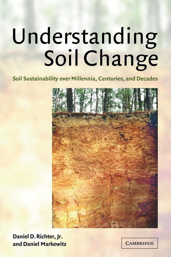 Understanding Soil Change als Taschenbuch
