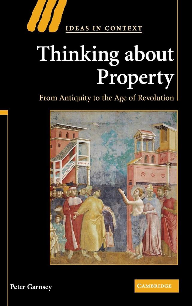 Thinking about Property als Buch (gebunden)