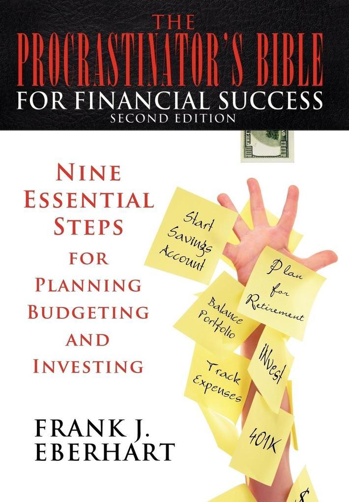 The Procrastinator's Bible for Financial Success als Buch (gebunden)