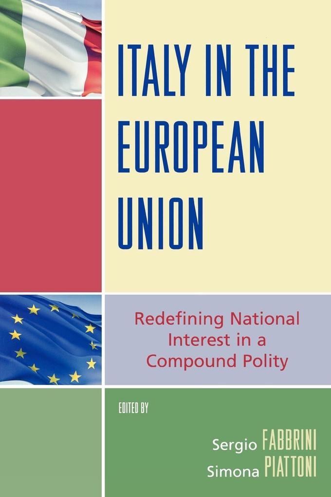 Italy in the European Union als Taschenbuch
