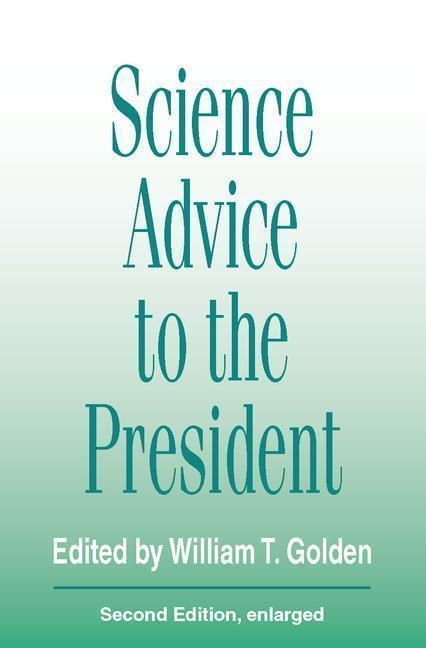 Science Advice to the President als Taschenbuch