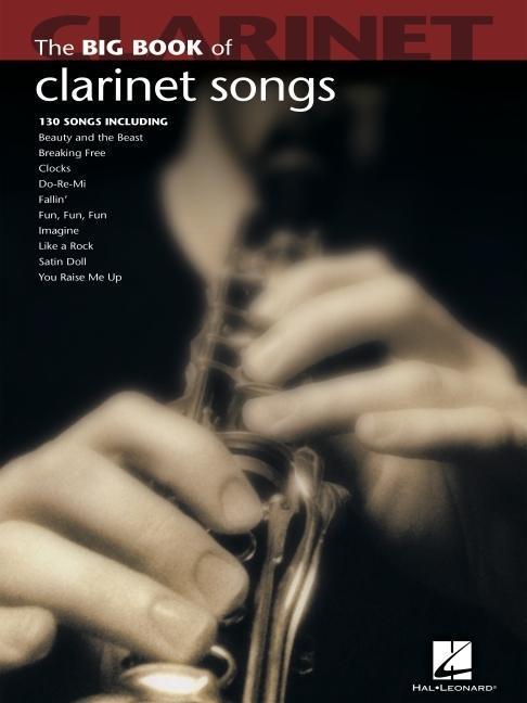Big Book Of Clarinet Songs als Buch (kartoniert)
