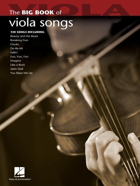 Big Book Of Viola Songs als Buch (kartoniert)