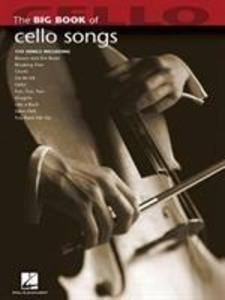 Big Book Of Cello Songs als Buch (kartoniert)