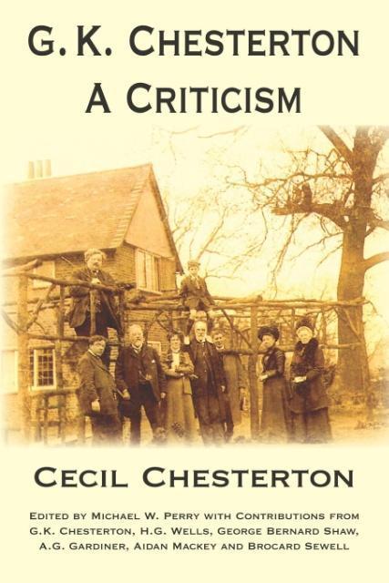 G. K. Chesterton, a Criticism als Taschenbuch