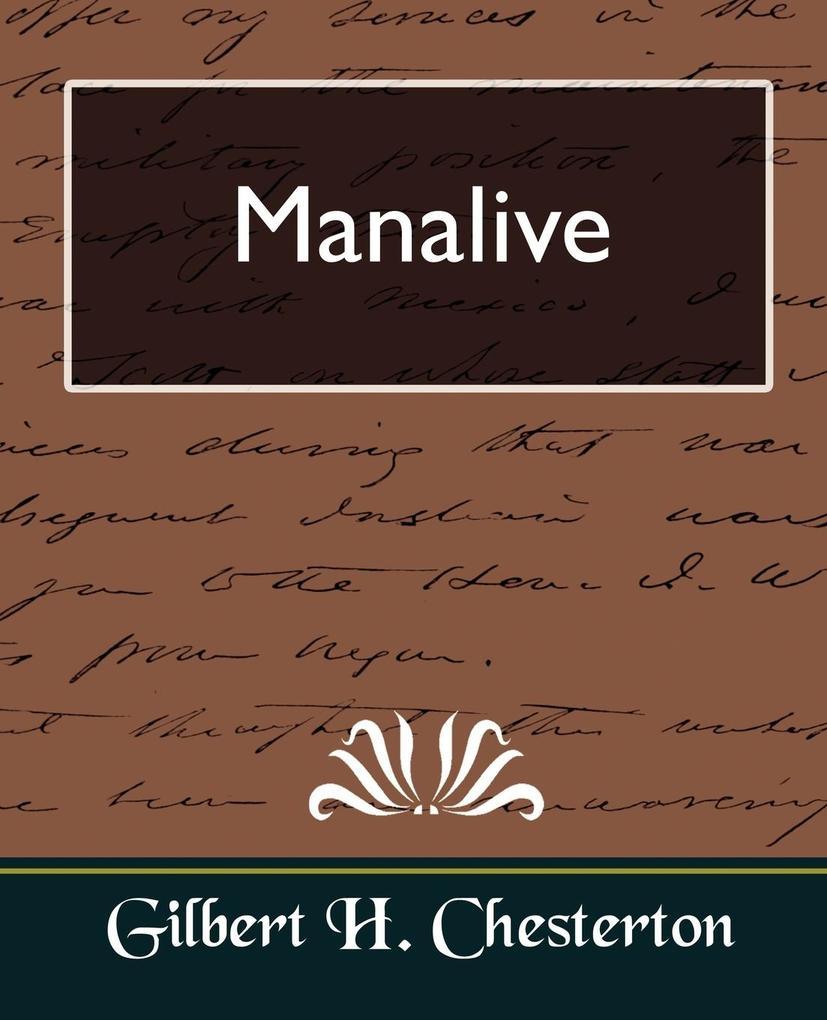 Manalive als Taschenbuch