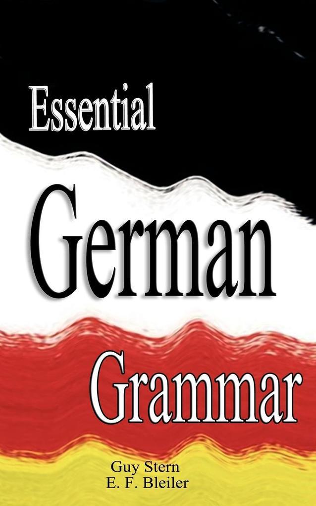 Essential German Grammar als Taschenbuch