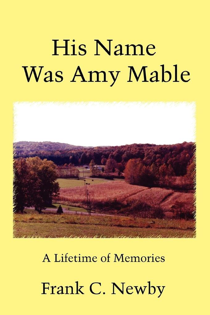 His Name Was Amy Mable als Taschenbuch