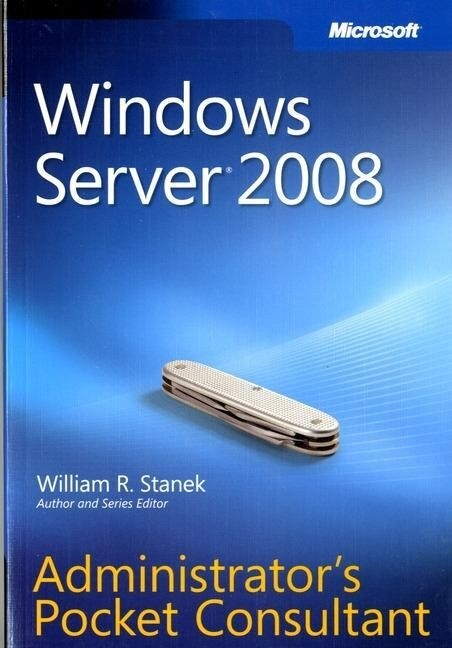 Windows Server 2008 Administrator's Pocket Consultant als Buch (gebunden)