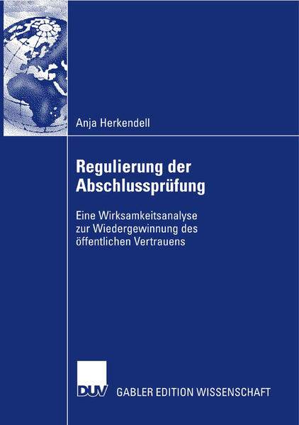 Regulierung der Abschlussprüfung als Buch (kartoniert)