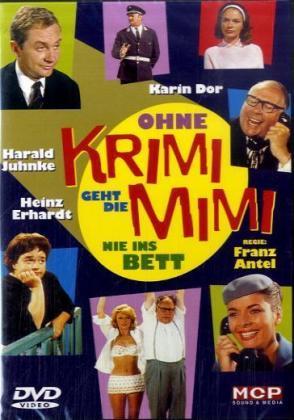 Ohne Krimi geht die Mimi nie ins Bett als DVD
