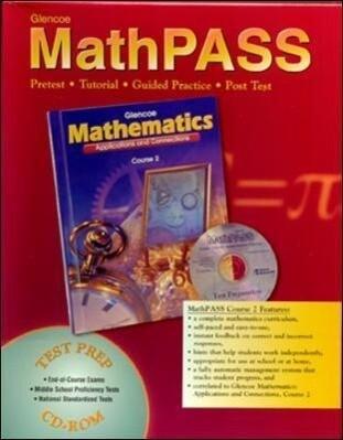 Mathematics: Applications and Connections, Course 2, Mathpass Tutorial CD-ROM Win/Mac als Buch (gebunden)