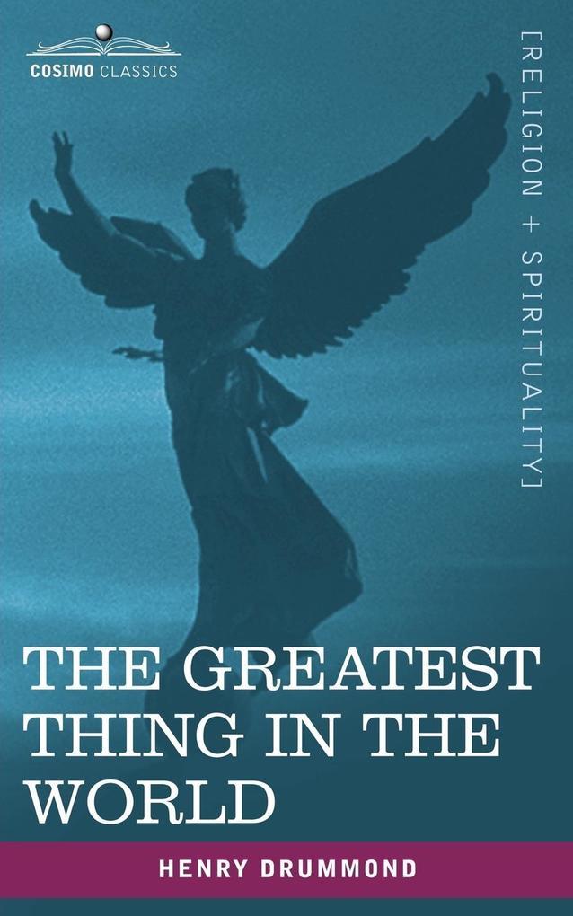 The Greatest Thing in the World als Taschenbuch
